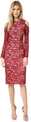 alice + olivia Laila Open Shoulder Dress $395 thestylecure.com