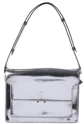 Marni Trunk Box Metallic Shoulder Bag