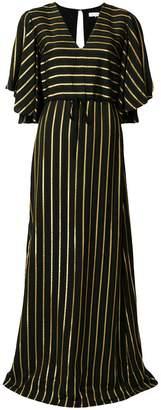 L'Autre Chose striped v-neck dress
