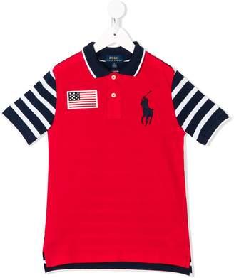 Ralph Lauren striped sleeve polo shirt
