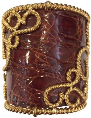 Loewe Vintage Gold Metal Bracelets