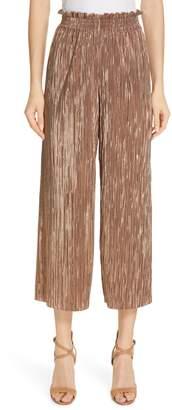Alice + Olivia Elba Paperbag Waist Crop Pants