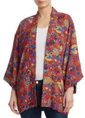 Elizabeth and James Drew Printed Kimono Jacket