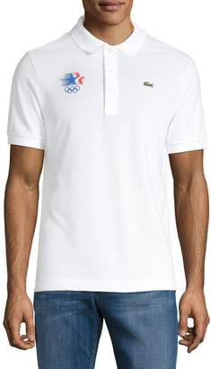 Lacoste Embroidered Logo Polo T-Shirt