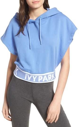 IVY PARK(R) Backless Short Sleeve Hoodie