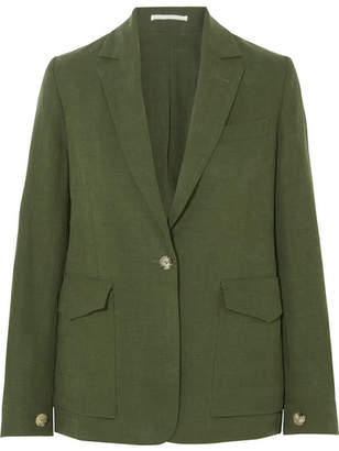 Golden Goose Saturnia Linen Blazer - Green