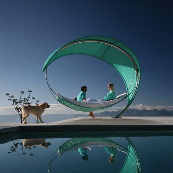 Royal Botania - wave hammock-parasol by royal botania