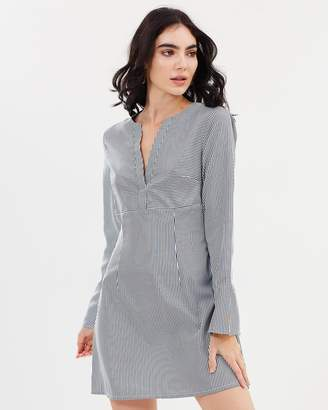 Monte Stripe Shirt Dress