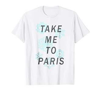 Take Me To Paris Snowflakes Graphic T-Shirt