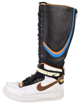 Nike Riccardo Tisci x Force 1 High-Top Sneakers
