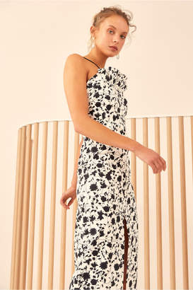C/Meo Collective ONLY WITH YOU MIDI DRESS ivory floral