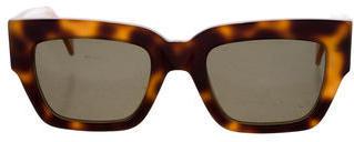 CelineCéline Square Tortoiseshell Sunglasses