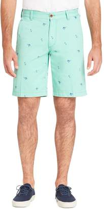 Izod Men's Saltwater Beachtown Classic-Fit Printed Stretch Shorts