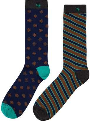 Scotch & Soda 2-Pack Colorful Socks