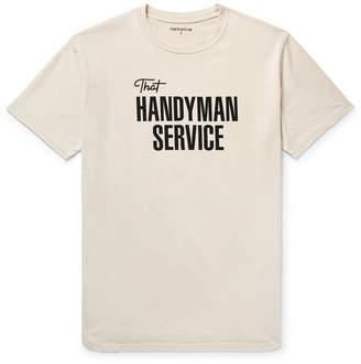 Nonnative Printed Cotton-Jersey T-Shirt