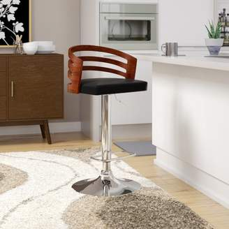Corrigan Studio Hancock Adjustable Height Swivel Bar Stool