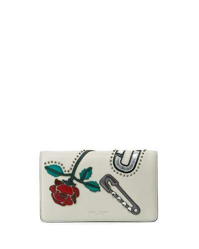 Marc JacobsMarc Jacobs MJ Collage Leather Wallet-on-Strap