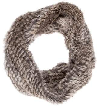 Adrienne Landau Rabbit Knit Snood