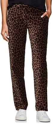 A.L.C. Women's Harrison Leopard-Print Velvet Trousers