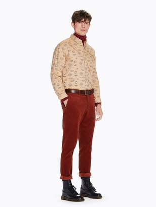Scotch & Soda Stuart - Corduroy Trousers Regular slim fit
