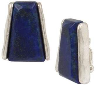 Robert Lee Morris Soho Clip-On Lapis Earrings