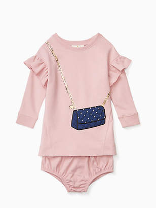 Kate Spade Infant quilted handbag dress