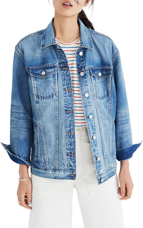 Madewell Oversize Denim Jacket