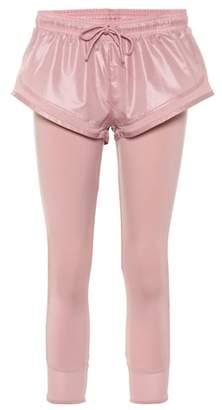 adidas by Stella McCartney Essentials shorts over tights
