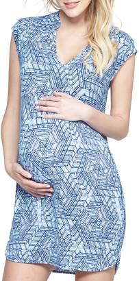Tart Maternity 'Mellie' Embellished Neck Maternity Dress