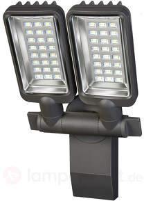 LED-Außenstrahler City 2 flg. -für innen und außen