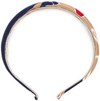 Prada floral hair band