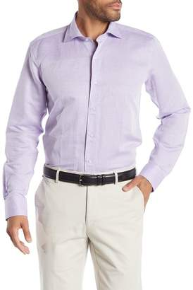 Peter Millar Solid Regular Fit Linen Blend Shirt