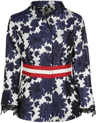 Bazar De Luxe Jacquard Fabric Jacket