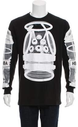 Hood by Air X-Ray Print Graphic T-Shirt