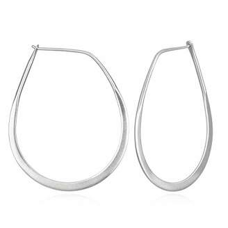 Satya Jewelry Women's Hoop Earrings