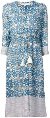 Vanessa Bruno printed drawstring waist dress