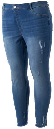Lauren Conrad Plus Size Pull-On Jeggings