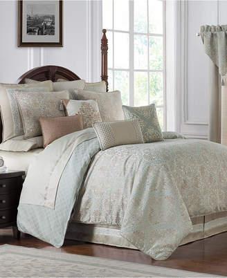 Waterford Reversible Gwyneth 4-Pc. California King Comforter Set