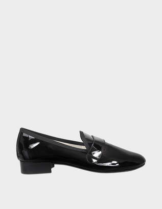 Repetto Michael Loafers in Black Calfskin