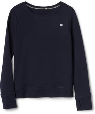 Gap GapFit Kids Open-Back Pullover Sweater