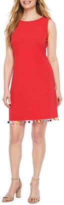 Ronni Nicole Sleeveless Embellished A-Line Dress-Petite