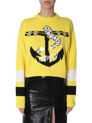 MSGM Crew Neck Sweater
