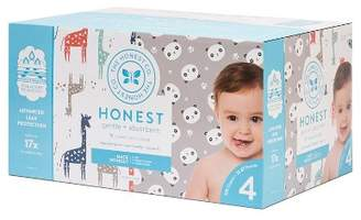 The Honest Company Disposable Diapers Giraffes & Pandas - Size 4 (120ct)