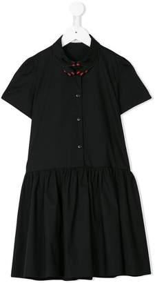 Vivetta Kids finger collar dress