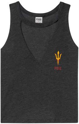 PINK Arizona State University Choker Neck Muscle Tank