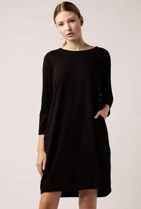 Azalea 3/4 Ponti Pleated Dress