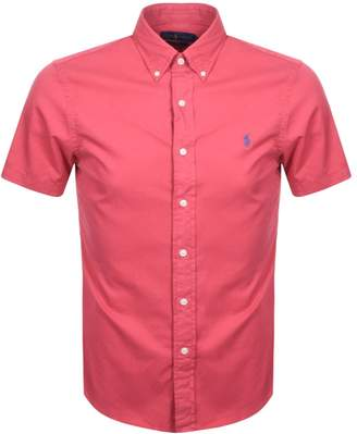 Ralph Lauren Short Sleeved Shirt Red