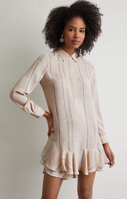 BCBGMAXAZRIA Peggy Plaid Print Dress