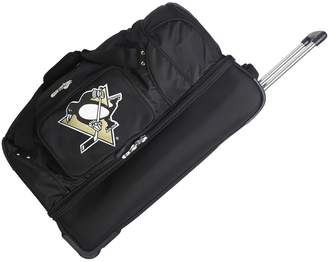 Denco Sports Luggage Pittsburgh Penguins 26-in. Wheeled Drop-Bottom Duffel Bag