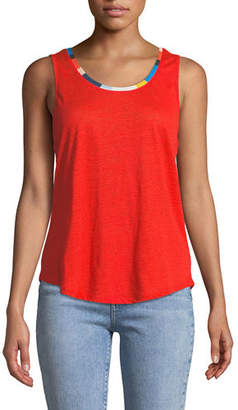 Splendid Ciao Bella Scoop-Neck Tank